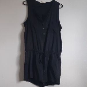 Black Shorts Romper